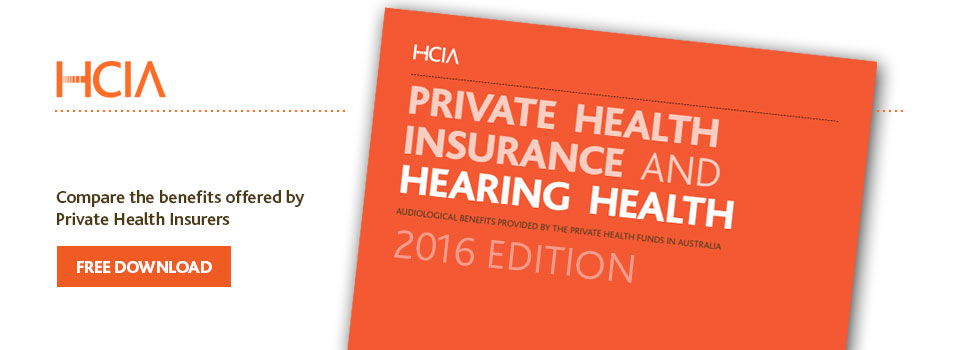 Private Health Insurance and Hearing Health 2016